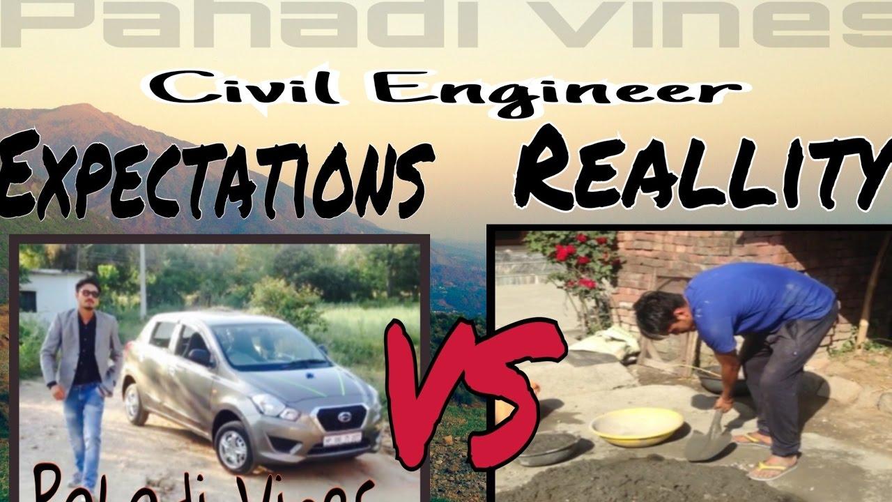 8b665296 Pahadi Vines - Civil Engineer Expectations Vs Reallity | best Engineer Funny  Video | H.I.E.T Shahpur