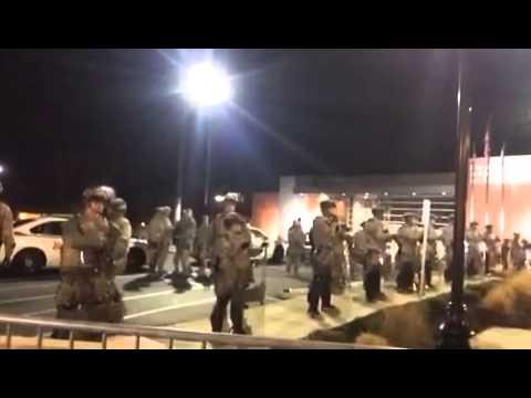 National Guard in Ferguson, MO