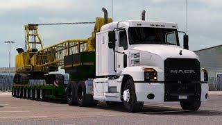 [1.32] Euro Truck Simulator 2 | Mack Anthem | Mods