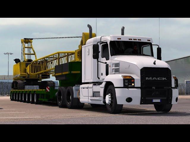 [1.32] Euro Truck Simulator 2   Mack Anthem   Mods