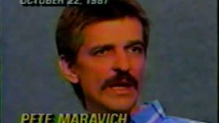 Rare Pistol Pete Maravich obituary