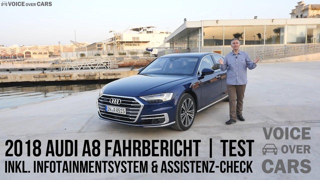 2018 audi w12. unique w12 2018 audi a8 fahrbericht test review tech check infotainment voice over  cars  kurz  lang w12 in audi w12