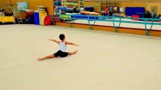 Спортивная гимнастика-мальчики. Выступление Егора 26.12.2015