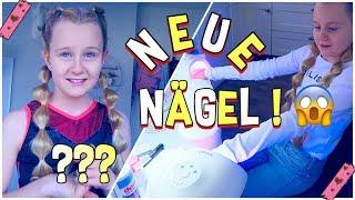 ICH GEHE DAS ERSTE MAL INS NAGELSTUDIO | MaVie Noelle Family Vlog