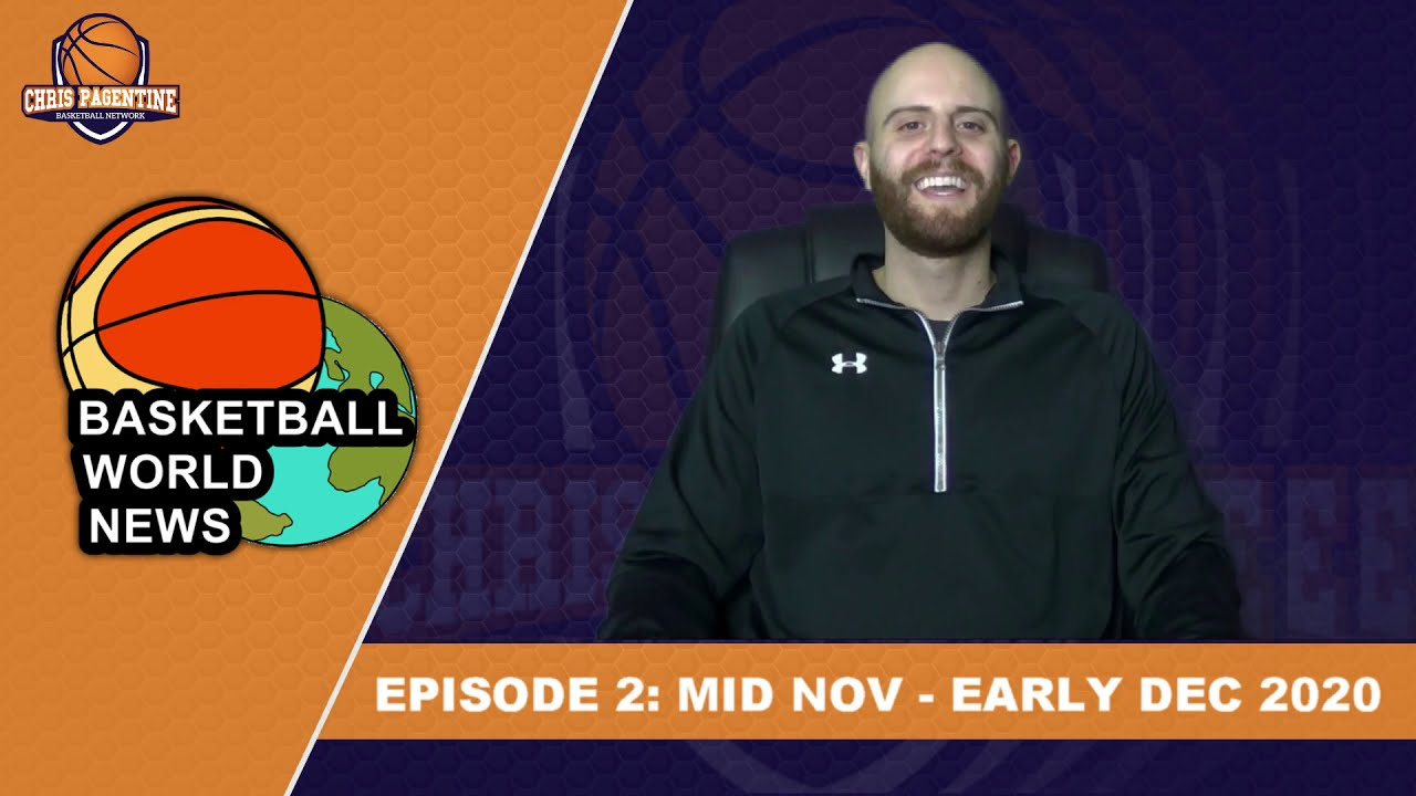 Basketball World News Ep. 2: Mid Nov - Early Dec 2020