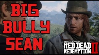 Sean Bullying at Camp Compilation | Red Dead Redemption 2