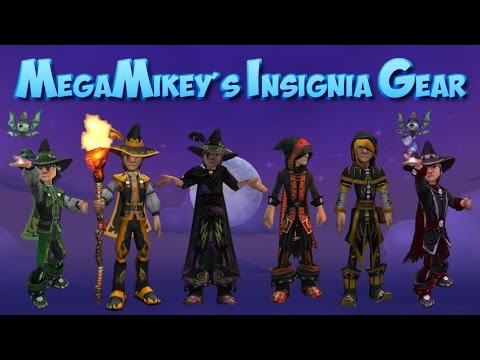 Wizard101: MegaMikey's School Insignia Gear Guide
