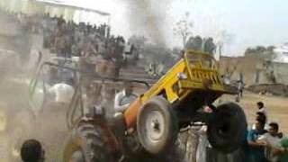 Hindustan Tractor Weds Jonder Tractor Chek Power And Risky Pulling Race