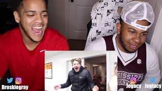 David Dobrik - THEY ALL WALKED IN ON ME!! (CAUGHT)   Broskie Variety Reaction!!