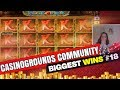 CasinoGrounds Community Biggest Wins #18 / 2017