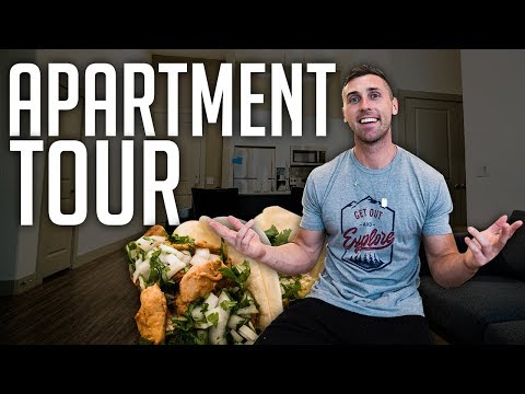 AUSTIN TEXAS APARTMENT TOUR (Living At The Domain) | The Best Tacos In Austin?!