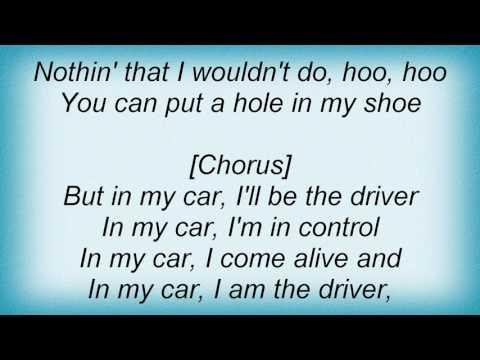 Shania Twain - In My Car (I'll Be The Driver) Lyrics