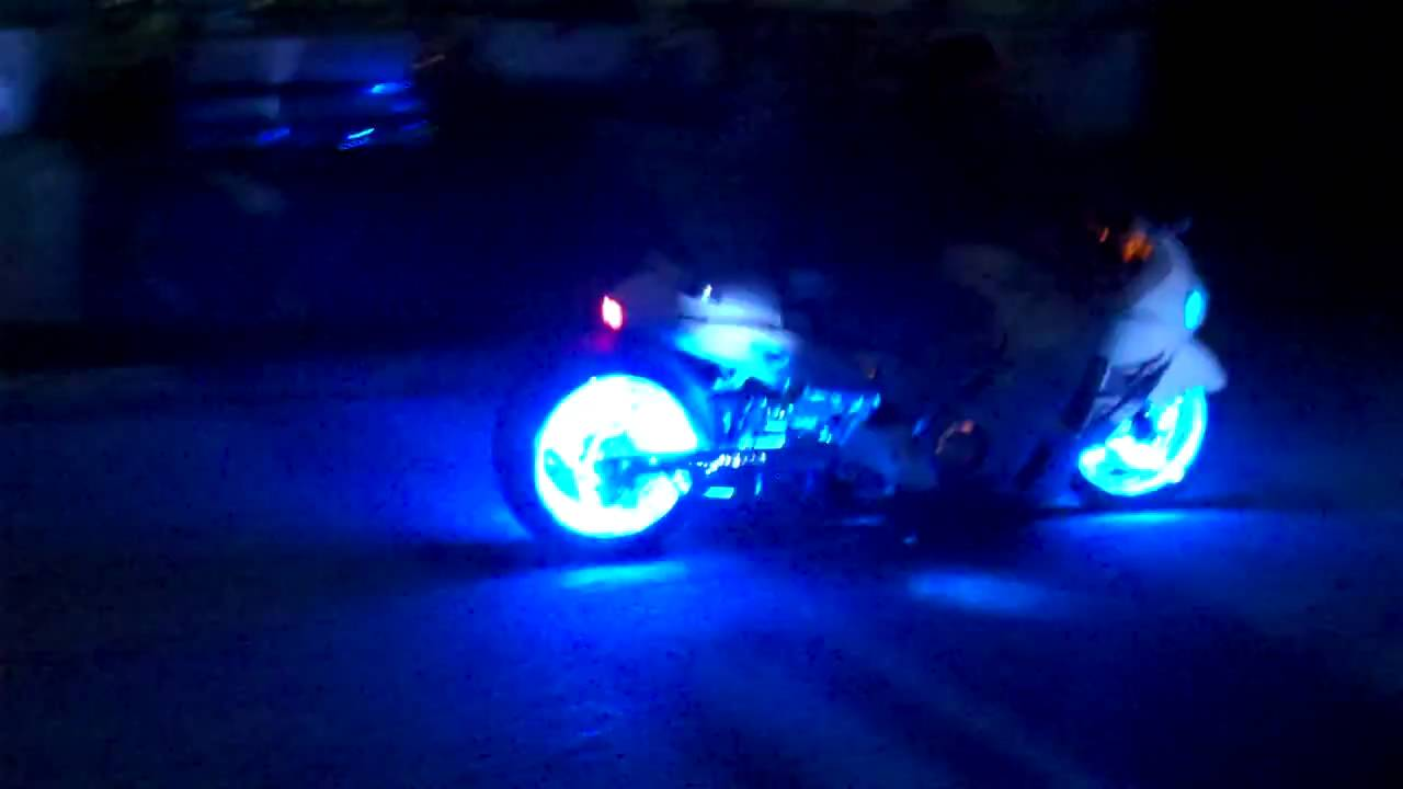 Motorcycle Led Light Wheels Kits By All Things Chrome
