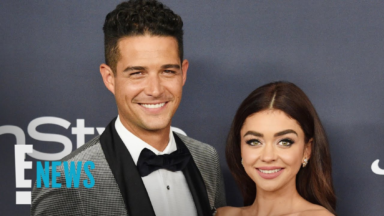 Sarah Hyland and Wells Adams Give Update On Their Wedding ...