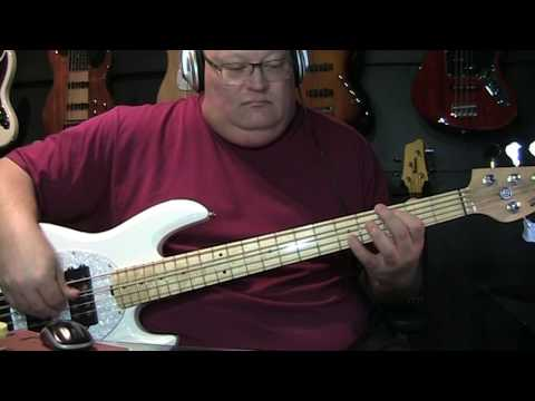 A Ha Take On Me Bass Cover with Notes & Tablature