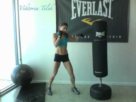 burn fat get 6 pack abs boxing workout everlast youtube. Black Bedroom Furniture Sets. Home Design Ideas