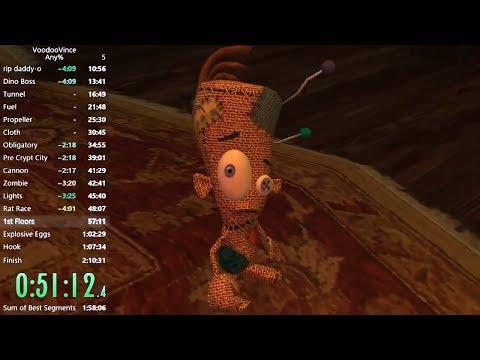 Voodoo Vince Speedrun any% 1:56:45 [Old Personal Best]