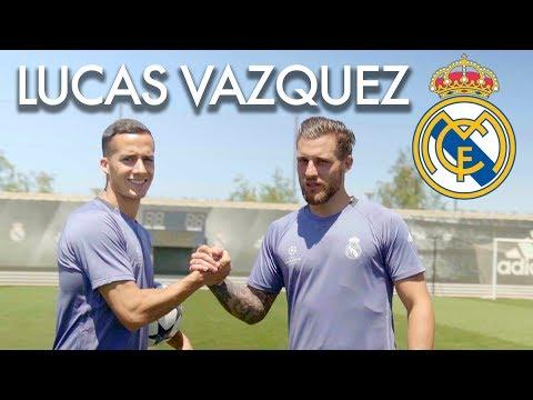 LUCAS VAZQUEZ ENSEÑA SUS TRUCOS Y SECRETOS del Fútbol junto a Nacho Fernandez de Real Madrid