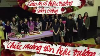 Welcome Kim Hua Thank You Cam Hong VN Party  Niên Khoá 2017-2018 Cecilia Catholic Tustin