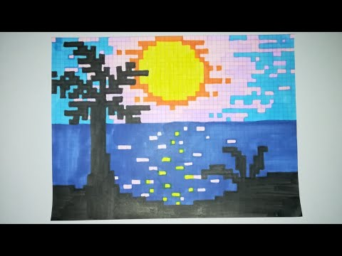 Pixel Art Paysage Youtube