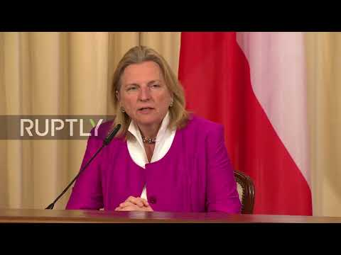 Russia: 'Communication channels should be kept open' – Austrian FM on Russian diplomats
