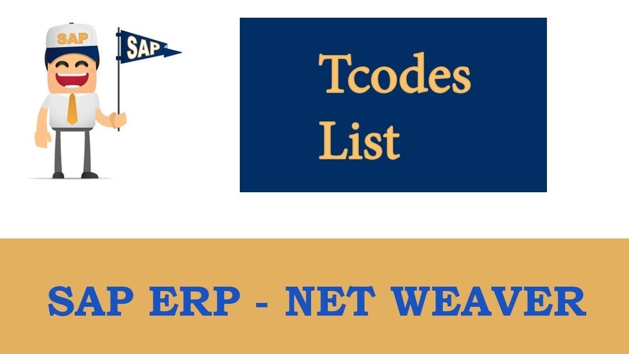 ERP SAP Basis - Net Weaver   AS ABAP Daily Monitoring - SAP Daily  Monitoring Tcodes List  