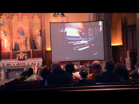 Organist Isabelle Demers Plays Fordham's New 2,776 Pipe Instrument
