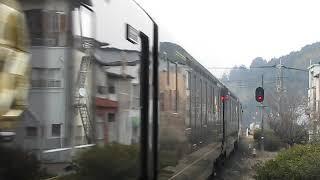 2014/1/17 クルーズトレイン「ななつ星 in 九州」発車@豊後森駅
