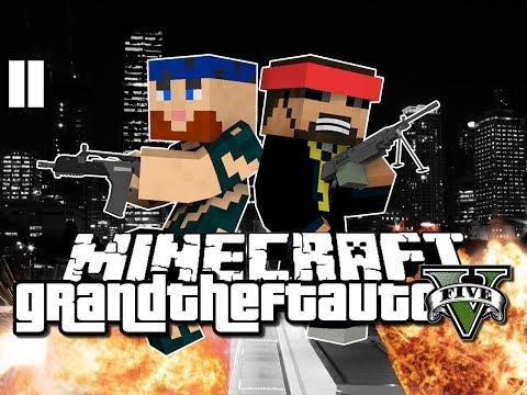 Minecraft Grand Theft Auto Mod 11 - QUEST COMPETITION (GTA 5)
