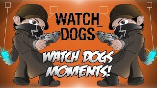 Watch Dogs Online Funny Moments! - Banana Boat Escape, Crazy Glitches, The Getaway Truck And More!