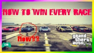 GTA 5 SPEED GLITCH!!! WIN EVERY CAR RACE?! (No clickbait)