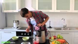 Делаем томатный сок в домашних условиях соковыжималкой Hurom HH SBE11