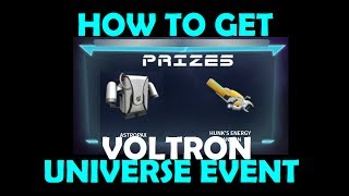 Roblox Voltron Event - How To Get Wings Of The Black Lion - Astropax & Hunk's Energy Cannon