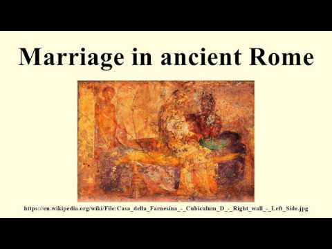 marriage in ancient rome essay