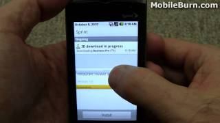 Sanyo Zio by Kyocera for Sprint review - part 1 of 2