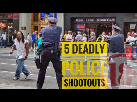 Top 5 Crazy Police Shootouts