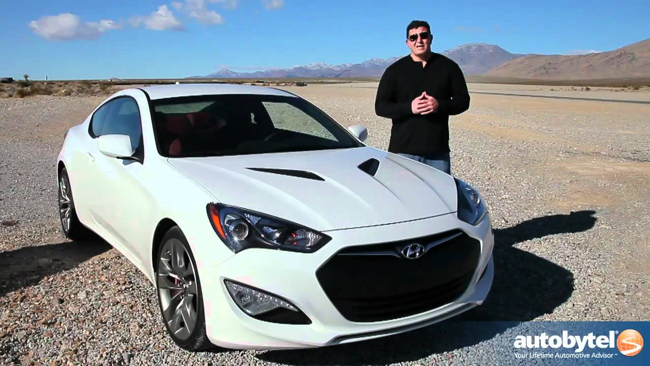 2013 Hyundai Genesis Coupe Test Drive Car Review Youtube