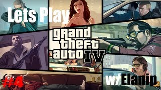 Grand Theft Auto IV Lets Play - Saving Roman From Baddys / BURN BABY BURN!