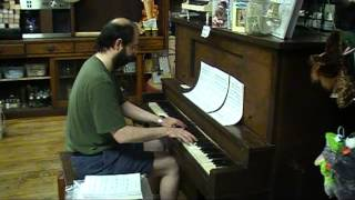 Super Mario Land 2 Ending Theme sight-read by Tom Brier