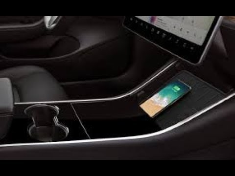 Tesla Model 3 Wireless Phone Charging Setup - YouTube
