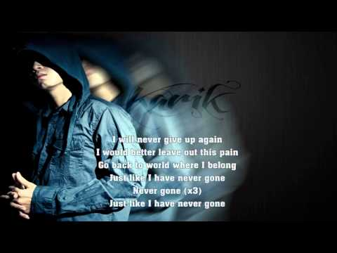 Đừng Lùi Bước - Karik 2011 (HQ + Lyric)