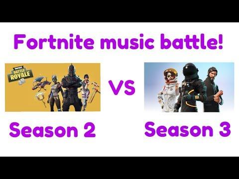 Fortnite Season 2 music VS Season 3 music