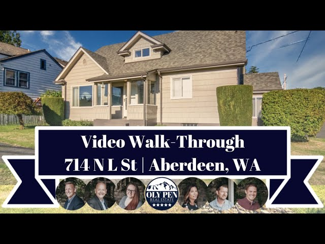 714 N L Street | Aberdeen, WA | Video Walk-Through