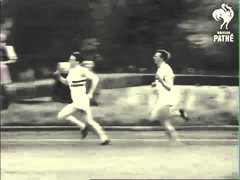 Roger Bannister Breaks the 4 Minute Mile