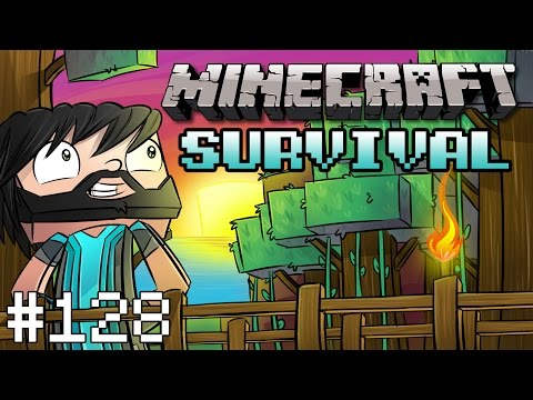 Minecraft : Survival - Part 128 - Underwater Railway