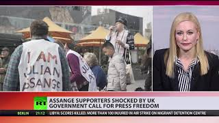 'What about Assange?': UK Foreign Office video calling for press freedom shamed for hypocrisy