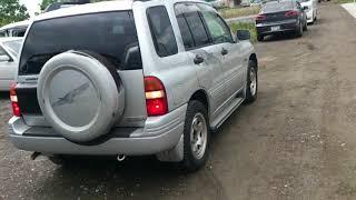 Видео-тест автомобиля Suzuki Escudo (Td52w-102509, J20A, серебро, 1998г)