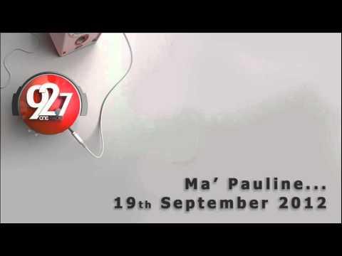 """Prof Scicluna on One Radio - """"Ma' Pauline"""""""
