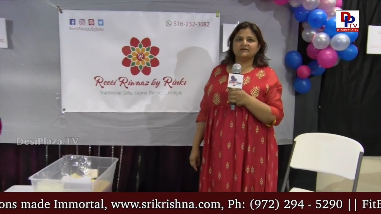 Rinki from Reeti Riwaz by Rinki - Bags, Bangles & Gift Items - Vendor at All In One Shopping Show