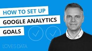 Google Analytics Hedefleri Ayarlama // 2018 Öğretici